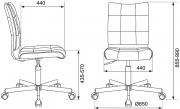 Кресло CH-330M иск. кожа