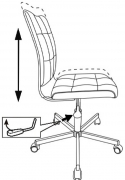 Кресло CH-330M ткань вельвет