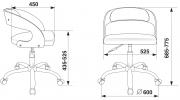 Кресло Бюрократ CH-370SL