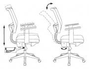 Кресло Бюрократ CH-535