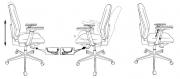 Кресло Бюрократ CH-545/SL