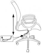Кресло Бюрократ CH-599AXSL
