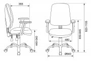 Кресло Бюрократ T-620SL