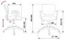 Кресло Бюрократ CH-636AXSN