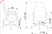 Кресло Бюрократ T-703SL