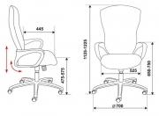 Кресло Бюрократ CH-818 AXSN