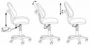 Детское кресло Бюрократ KD-4-F