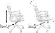 Кресло Бюрократ CH-883-Low