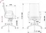 Кресло Бюрократ CH-883MB