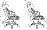 Кресло Бюрократ Т-9917
