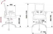 Кресло Бюрократ MC-612