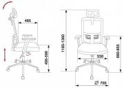 Кресло Бюрократ MC-612-H