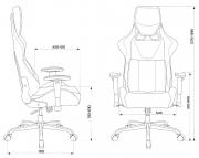 Кресло игровое Бюрократ VIKING LOFT