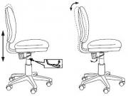 Детское кресло Бюрократ CH-W213