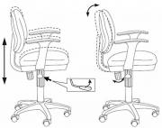 Кресло Бюрократ CH-W356 AXSN