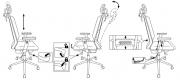 Кресло Бюрократ MC-W612N-H